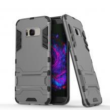 A-One BrandHybrid Mobilskal Samsung Galaxy S8 Plus - Grå