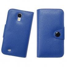 DoormoonDoormoon embossed Plånboksfodral till Samsung Galaxy S4 i9500 (Blå)