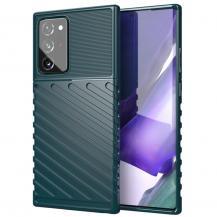 Thunder Twill Skal till Samsung Galaxy Note 20 Ultra - Green