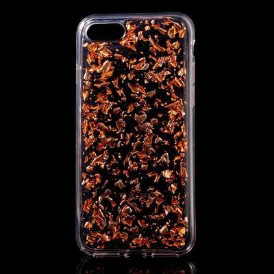 Glitter Sequins Mobilskal till iPhone 7/8/SE 2020 - Rose Gold
