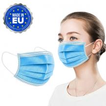 OEM[300-PACK] Munskydd CE-godkänd 3-Lager Skyddsmask Producerade i EU
