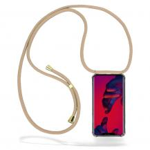 CoveredGear-NecklaceCoveredGear Necklace Case Huawei Mate 20 Pro - Beige Cord