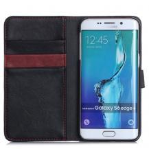 CoveredGearCoveredGear Plånboksfodral till Galaxy S6 Edge+ - Svart