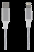 EpziEPZI USB-C till Lightning 0,5 m (Silver)