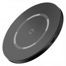 BASEUSBASEUS - Simple Magnetic Magsafe Wireless Charger 15W - Svart