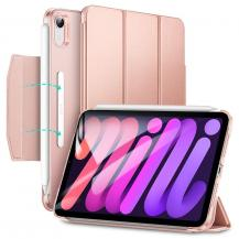 ESRESR Rebound Magnetic Fodral iPad Mini 6 2021 - Rosa Guld