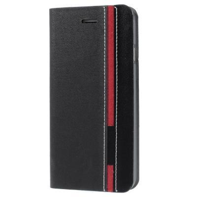 Plånboksfodral till Apple iPhone 6(S) Plus - Svart