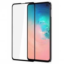 GEARGEAR Härdat Glas 3D Full Cover Samsung S10 Lite - Svart