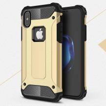 A-One BrandHybrid Armor Mobilskal till Apple iPhone XS / X - Gold