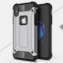 A-One BrandHybrid Armor Mobilskal till Apple iPhone XS / X - Grå