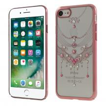 KavaroKavaro Skal med Swarovski stenar till iPhone 7/8/SE 2020 - Rose Butterfly