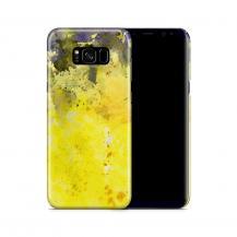 Skal till Samsung Galaxy S8 Plus - Vattenfärg - Gul