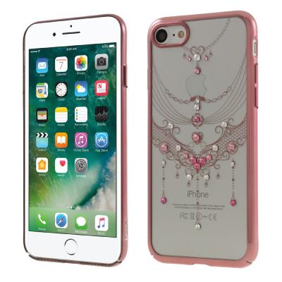 Kavaro Skal med Swarovski stenar till iPhone 7/8/SE 2020 - Rose Butterfly