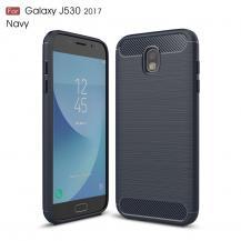 OEMCarbon Brushed Skal till Samsung Galaxy J5 (2017) - Blå