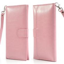 OEMGrain Plånboksfodral av konstläder - Rosa