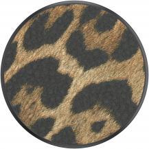 PopSocketsPOPSOCKETS Vegan Leather Leopard Avtagbart Grip