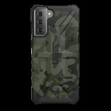 UAGUAG Samsung Galaxy S21 Plus Pathfinder-Fodral Woodland Camo