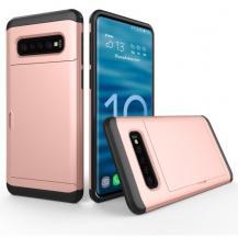 A-One BrandHybrid skyddsskal för Samsung Galaxy S10 Plus - Roséguld