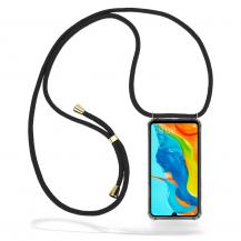 CoveredGear-NecklaceCoveredGear Necklace Case Huawei P30 Lite - Black Cord
