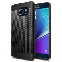 SpigenSPIGEN Neo Hybrid Carbon Skal till Samsung Galaxy Note 5 - Gunmetal