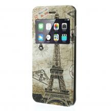 A-One BrandMobilFodral med fönster till Apple iPhone 6 / 6S - EiffelTornet