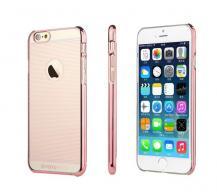TOTUToTu Stripes Baksideskal till Apple iPhone 6 / 6S (Magenta)