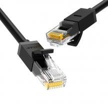 UGrönUGreen Ethernet Kabel RJ45 Cat 6 UTP 1000Mbps 1m Svart