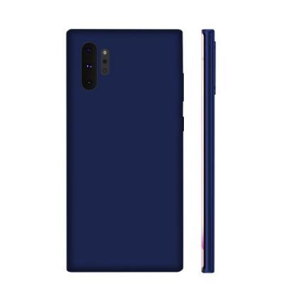 NXE Soft Series Skal för Samsung Galaxy Note 10 Plus - Blå