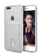 A-One BrandFlexicase Skal med Kortplats till Apple iPhone 7/8 Plus - Transparent