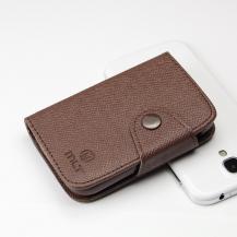 MLTMLT Plånboksfodral till Samsung Galaxy Y S5360 (Brun)