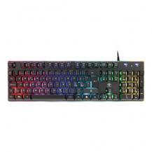 Deltaco GamingDeltaco RGB-tangentbord, 105 tangenter, membranbrytare