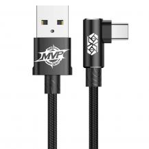 BASEUSBaseus MVP Elbow Type Kabel USB Type-C 1.5A 2M Svart