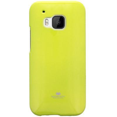 Mercury Jelly Flexicase Skal till HTC One M9 - Gul