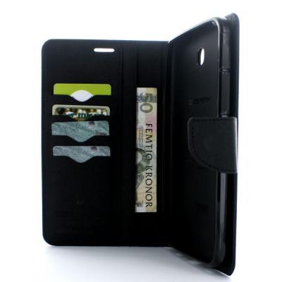 Mercury Fancy Diary Plånboksfodral till Samsung Galaxy Tab 3 7,0 (Svart)