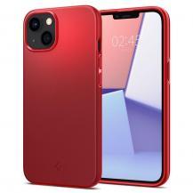 SpigenSpigen Thin Fit Skal iPhone 13 Mini - Röd