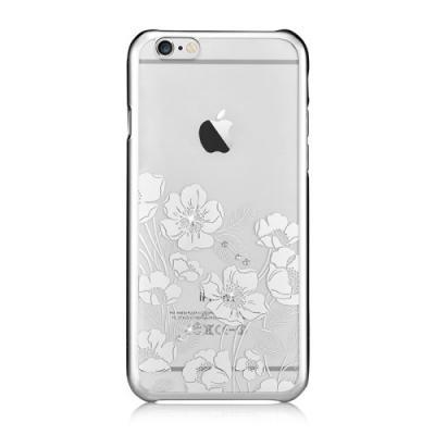 Devia skal med Swarovski-stenar till iPhone 6 / 6S - Silver