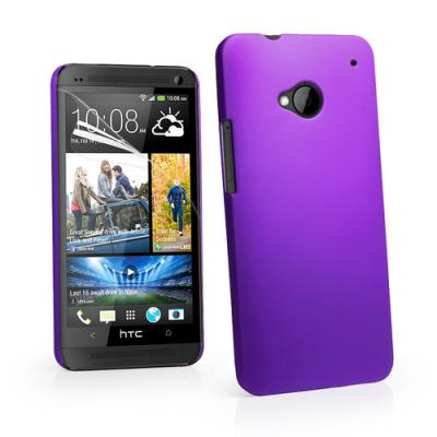Baksidesskal till HTC One (M7) (Lila)