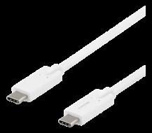 DeltacoDELTACO USB-C till USB-C kabel, 5 Gbit/s, 2 m