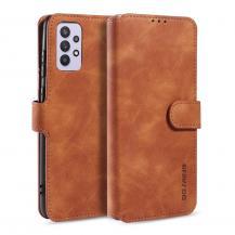 DG.MINGDG.Ming Retro Plånboksfodral Galaxy A32 5G - Brun