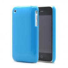 OEMShiny baksideskal till iPhone 3gs Blå