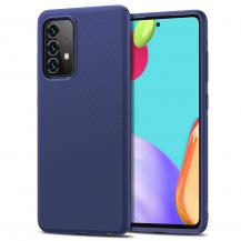 A-One BrandTwill Texture Flexicase Skal till Galaxy A52 5G - Svart