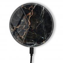 BabacoTrådlös laddare 10W Premiumglas Abstract 005