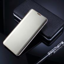 A-One BrandWindow Mirror Fodral till Samsung Galaxy S10 Plus - Guld