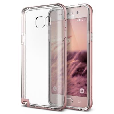 Verus Crystal Bumper Skal till Samsung Galaxy Note 5 - Rose Gold