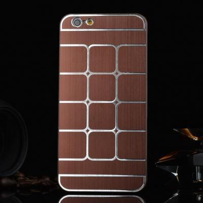 BaksideSkal till Apple iPhone 6   6S - Brun billigt online ... d93641da1f776