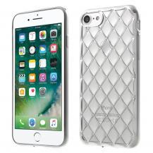 A-One BrandRhombi Mobilskal iPhone 7/8/SE 2020 - Silver