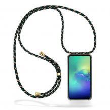 CoveredGear-NecklaceCoveredGear Necklace Case Samsung Galaxy S10e - Green Camo Cord