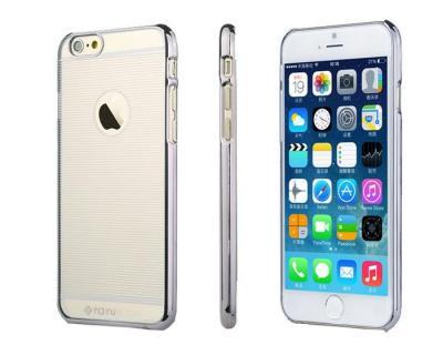 ToTu Stripes Baksideskal till Apple iPhone 6 / 6S (Grå)