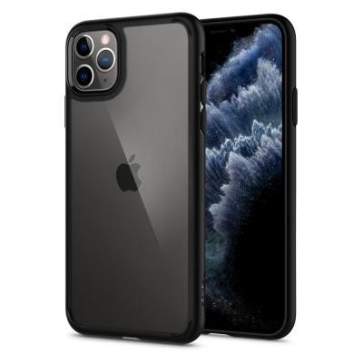 Spigen Ultra Hybrid iPhone 11 Pro Max Mattsvart