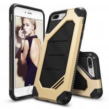 RearthRingke Double Layer Armor Tough Skal till iPhone 7 Plus - Gold